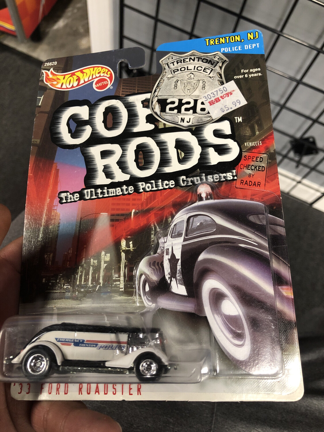 Hot Wheels-Cop Rods-'33 Ford Roadster