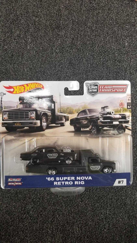Hot Wheels - Car Culture - Team Transport - 66 Super Nova Retro Rig