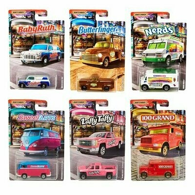Matchbox Candy Cars Sealed Case of 10 HTF