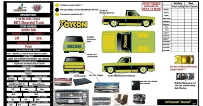M2 '73 Silverado 1 0f 1000 Hall of Honor Exclusive Pre Order