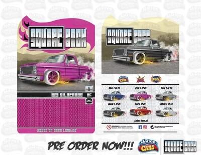 Square Back Series #1  '83 Silverado Pink