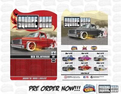 Square Back Series #1  '83 Silverado Red