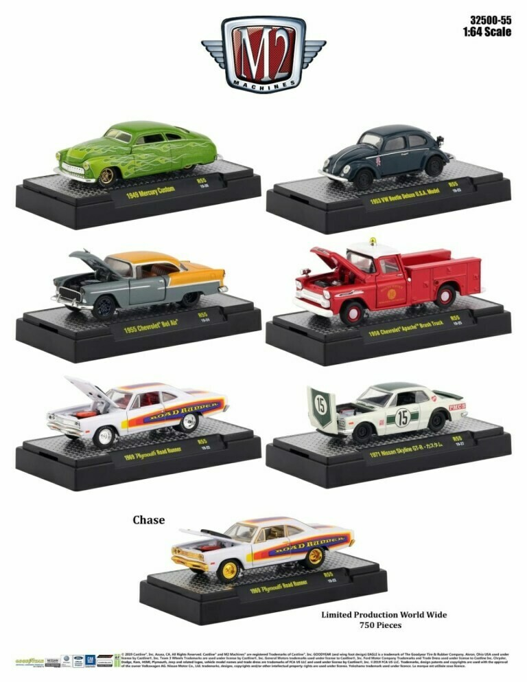 M2 Auto Show Inner Sealed Case- CHASE NOT GUARANTEED
