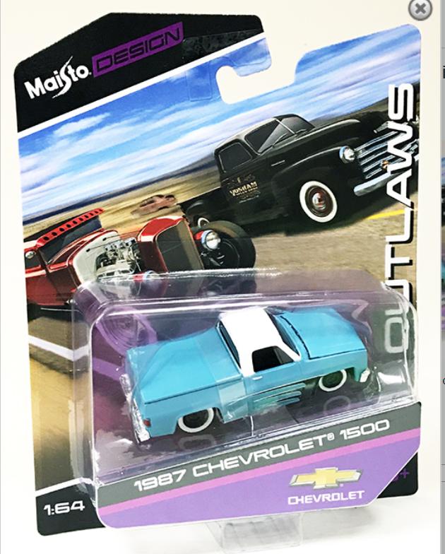 Maisto Blue Truck