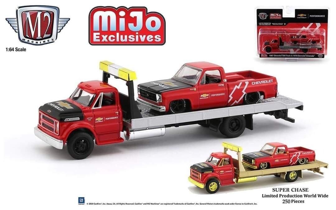 M2 exclusive Silverado and C60 Flatbed Set Pre Order