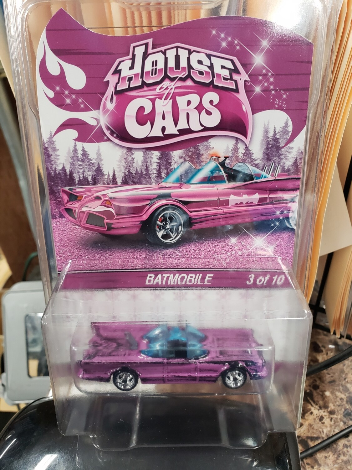 House of Cars Rewards Holiday Exclusive  '66 Batmobile