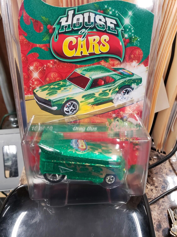 Christmas VW Drag Bus