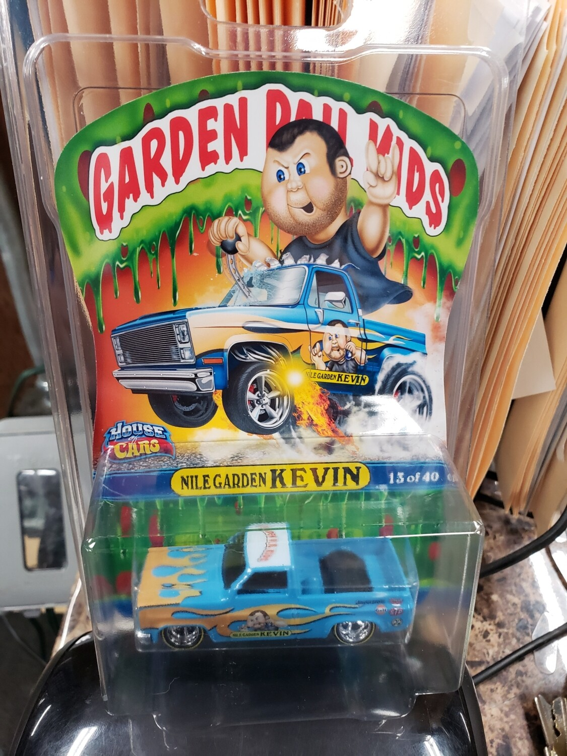 Nile Garden Kevin Hot Wheels  '83 Silverado