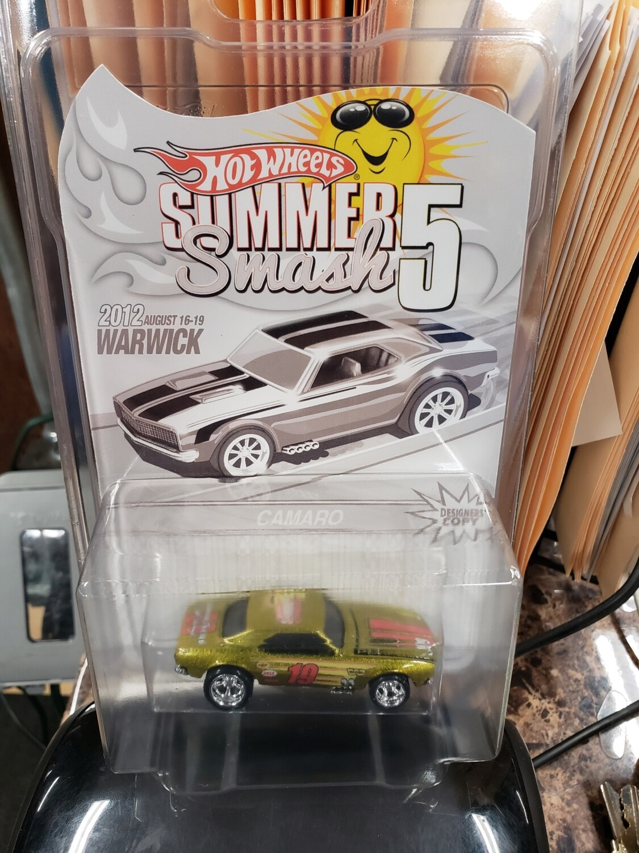 Summer Convention Series 10th Anniversary '67 Camaro - Hot Wheels Summer Smash