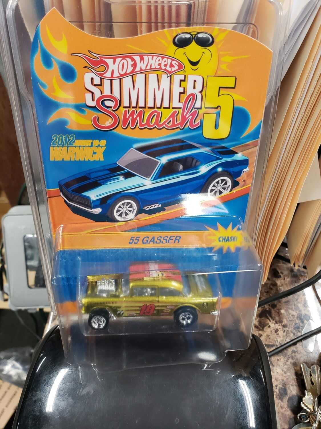 Summer Convention Series 10th Anniversary '55 Gasser - Hot Wheels Summer Smash