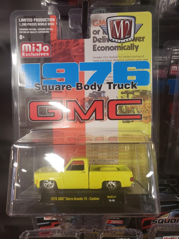M2 Silverado Exclusive Yellow Silverado