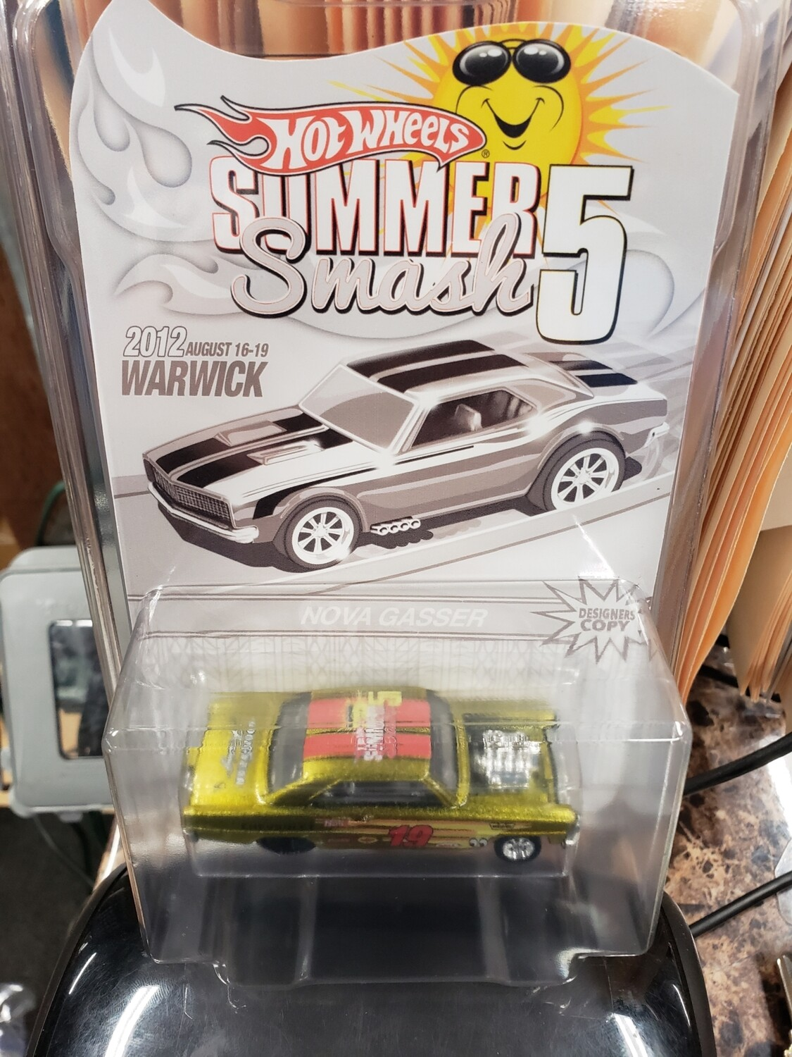 Summer Convention Series 10th Anniversary'66 Nova Gasser - Hot Wheels Summer Smash