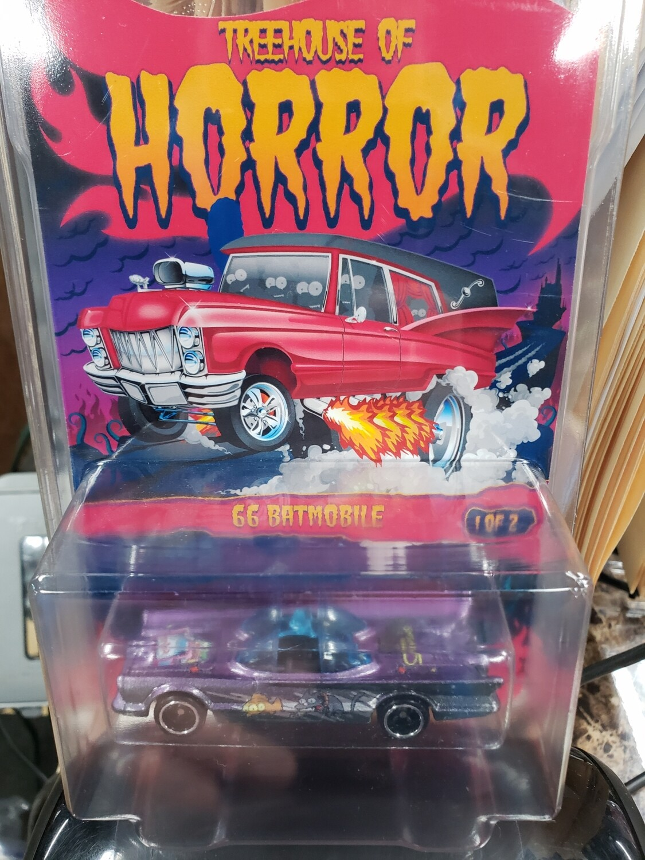 Halloween Tree house of Horror Exclusive  '66 Batmobile
