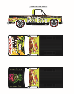 Weekend of Wheels Chevy Cheyenne Rat Fink Dirty Truck