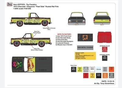 Weekend of Wheels Chevy Cheyenne 2 Truck Set