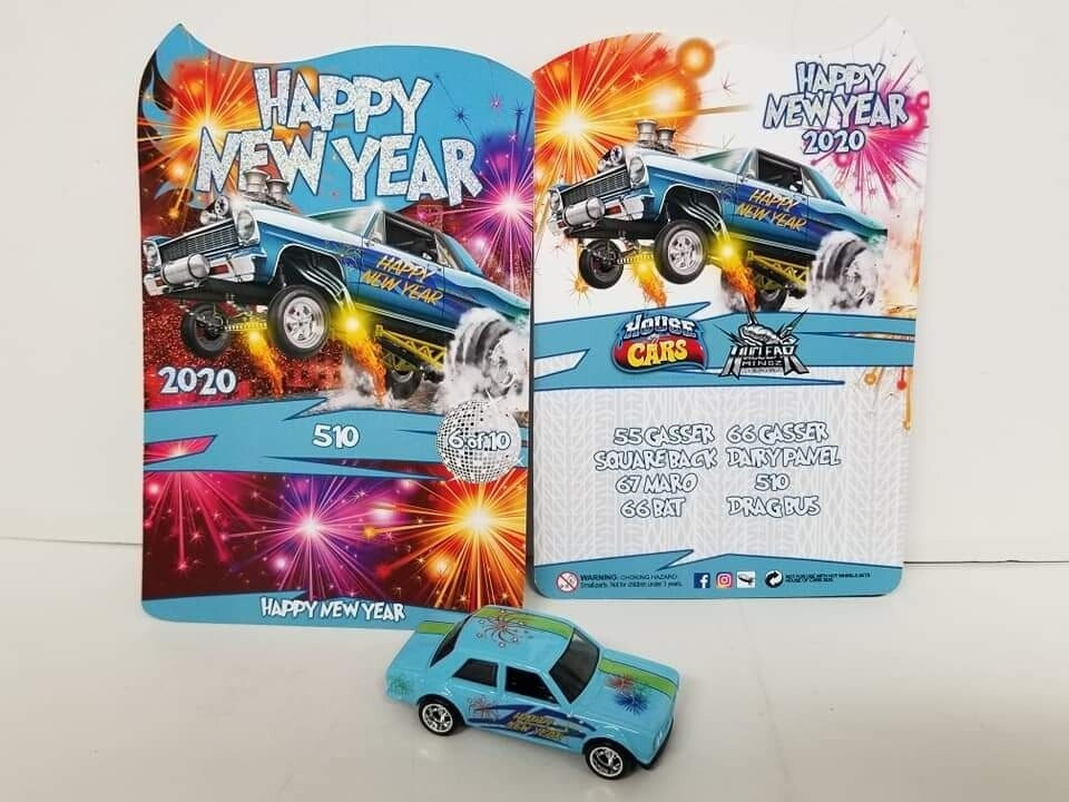 2020 Happy New Year January Series Datsun 510 1 of 10 Produced