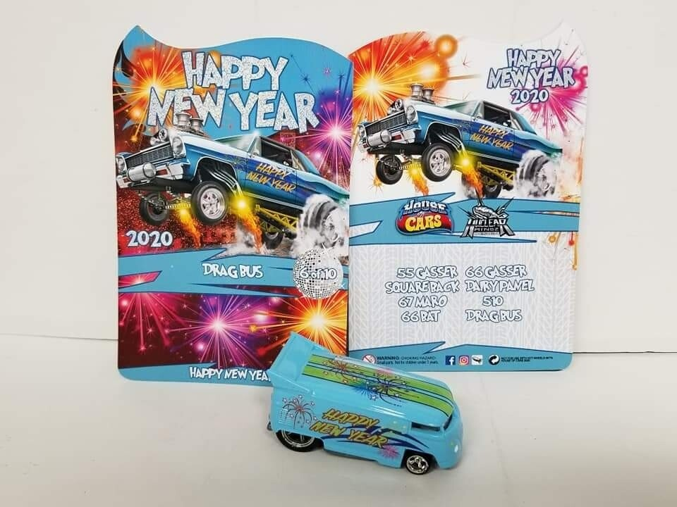 2020 Happy New Year January Series VW Drag Bus 1 of 10 Produced