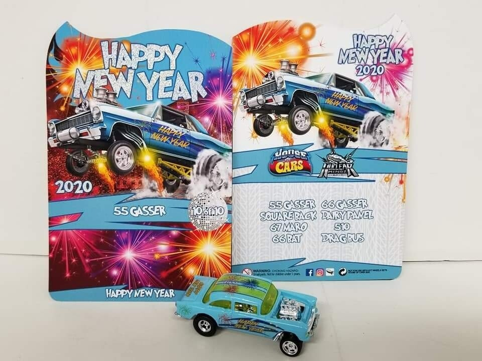 2020 Happy New Year January Series  55 Gasser 1 of 10 Produced