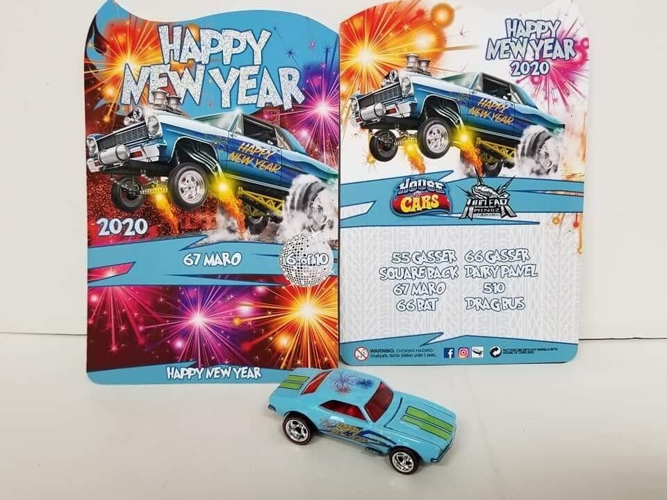 2020 Happy New Year January Series '67 Camaro 1 of 10 Produced