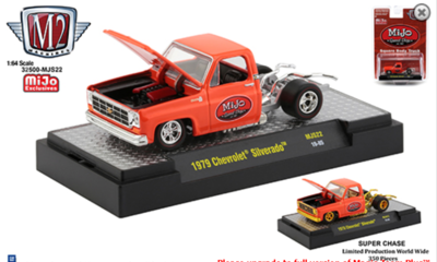 M2 MACHINES 1:64 Auto Trucks Mijo Exclusive 1979 Chevrolet Silverado Square Body No Bed Mijo Speed Shop Limited 4,200