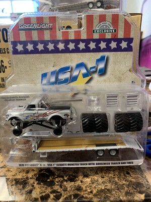 USA-1 Monster truck And Trailer