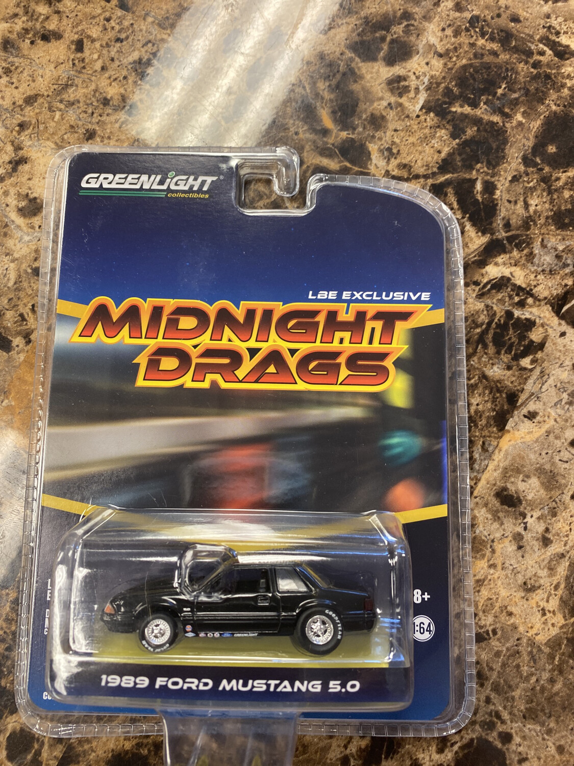 Greenlight-Midnight Drags 1989 Ford Mustang 5.0