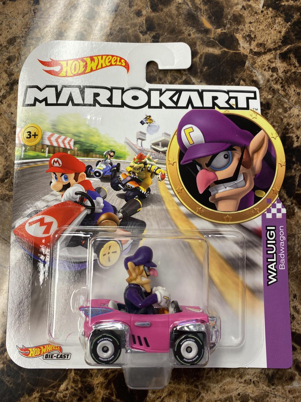 Hot Wheels-Mario Kart Waluigi