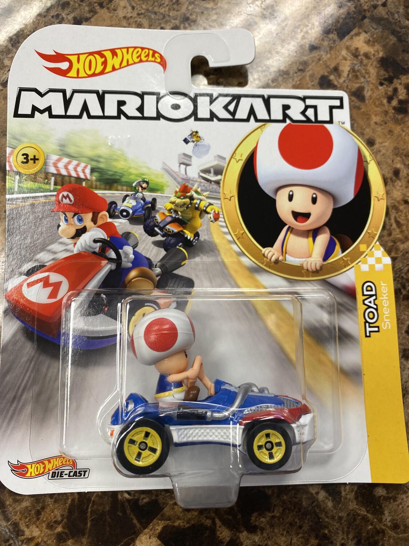 Hot Wheels-Mario Kart Toad