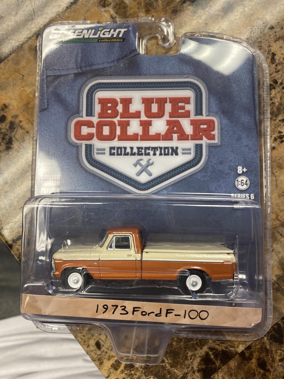 Greenlight-Blue Collar 1973 Ford F-100