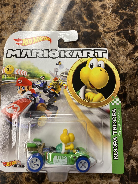 Hot Wheels-Mario Kart Koopa Troopa