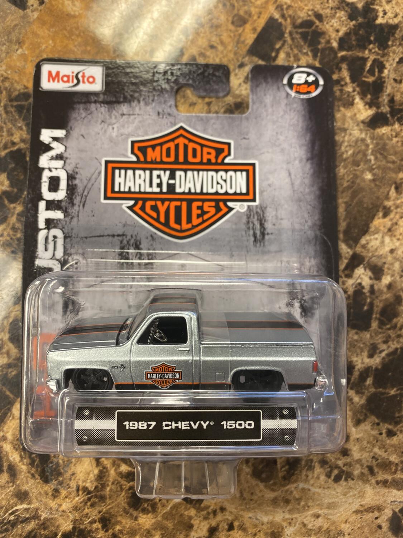Maisto-Harley Davidson 1987 Chevy 1500