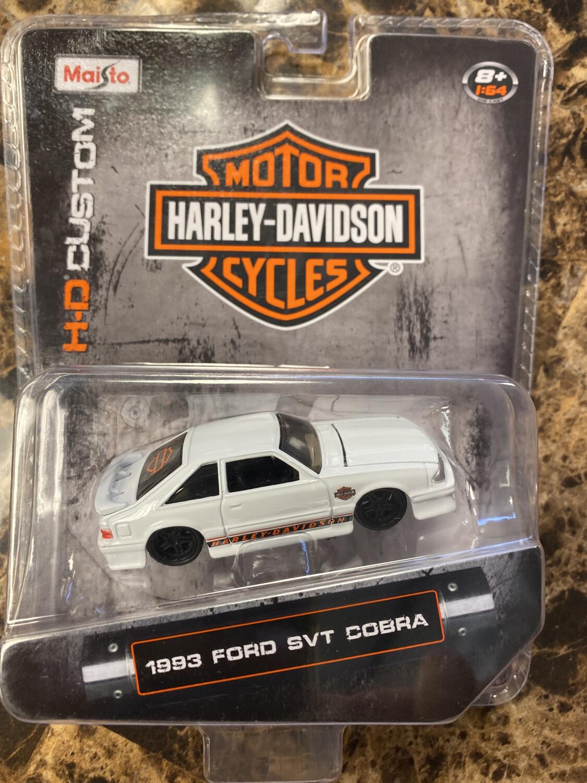 Maisto-Harley Davidson 1993  Ford SVT Cobra : White