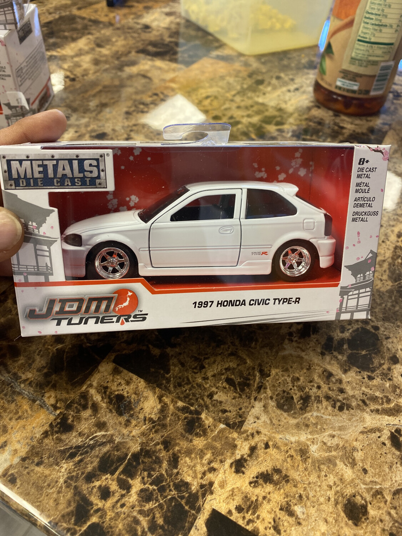 Jada-JDM Tuners 1997 Honda Civic Type-R : White