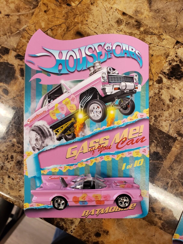 2020 Sweetheart February Series  Series Batmobile 1 of 10 Produced