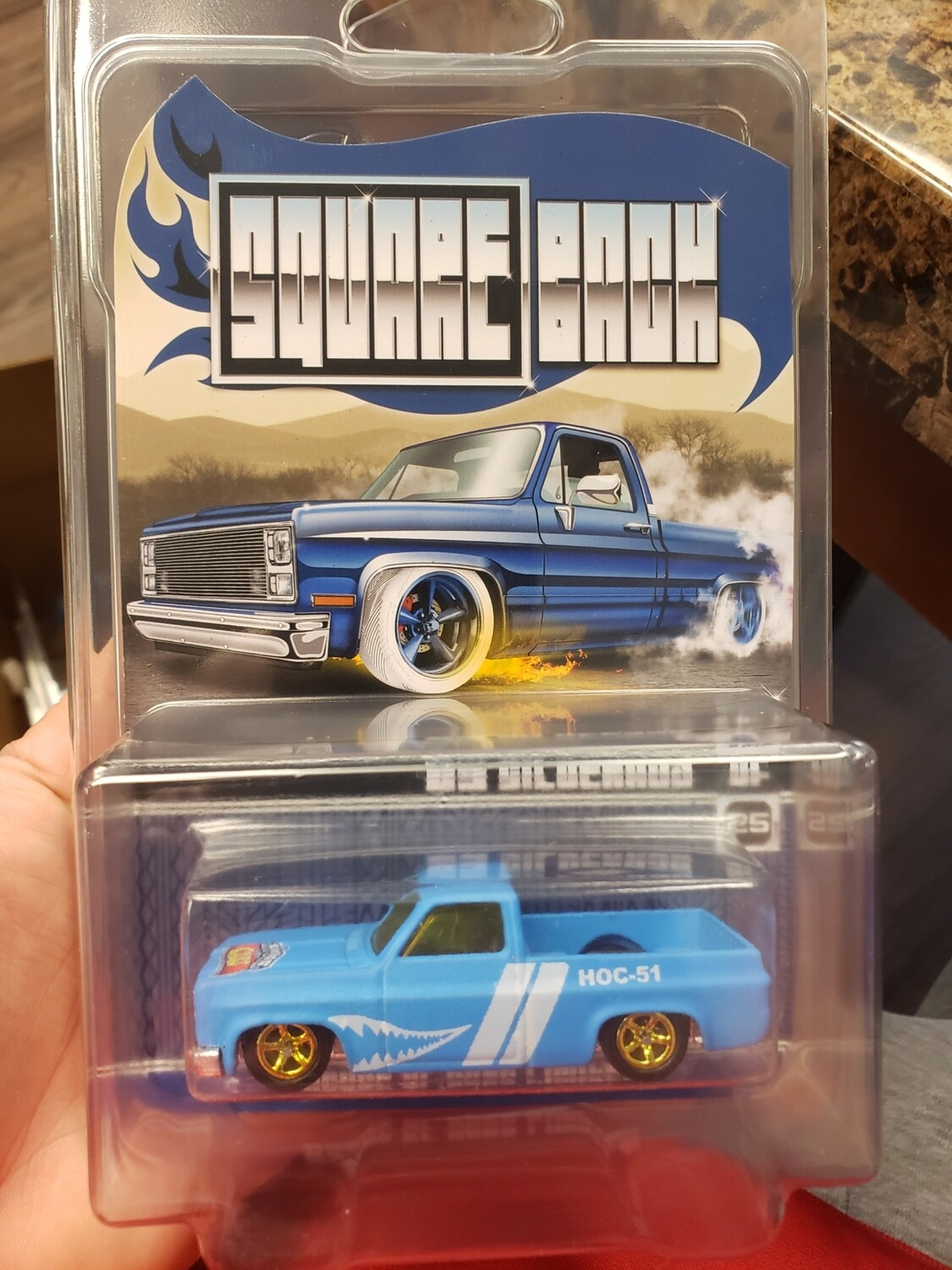 Square Back Series #1  '83 Silverado Blue