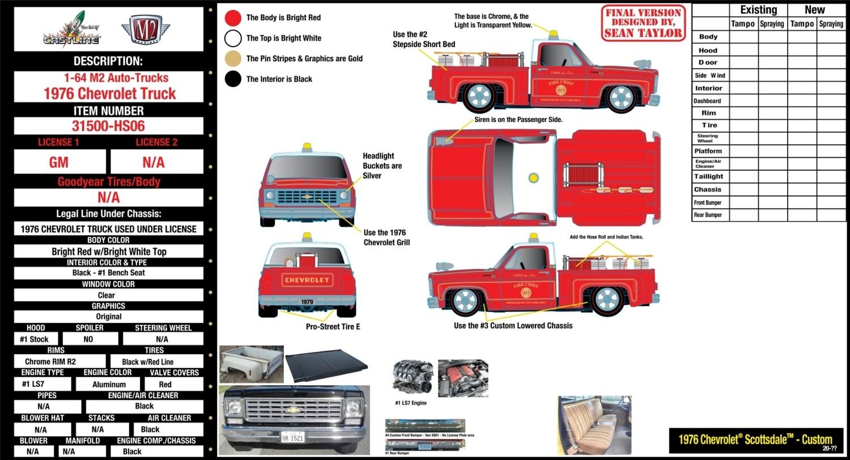 M2 1979 Chevrolet ScottsdaleFire Deco