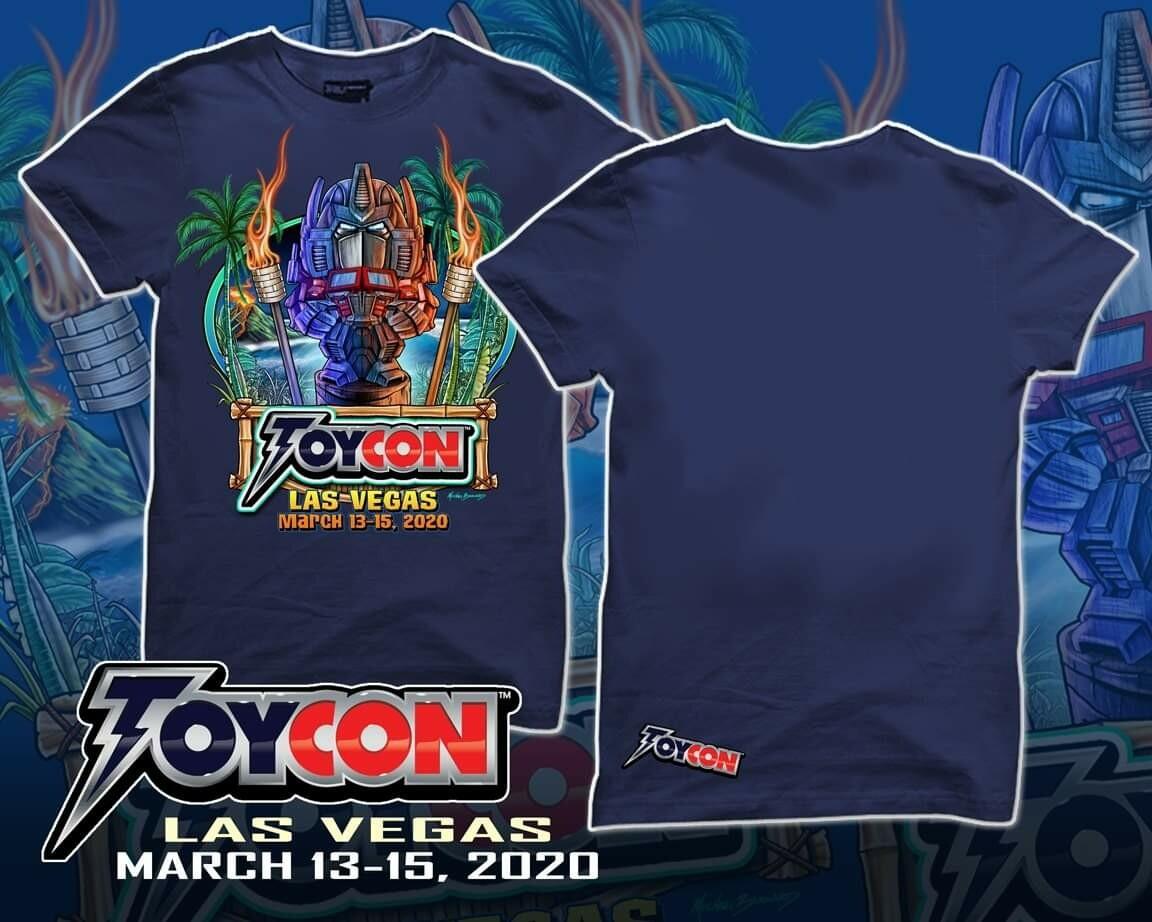 ToyCon Tiki TransformerShirt Size Small