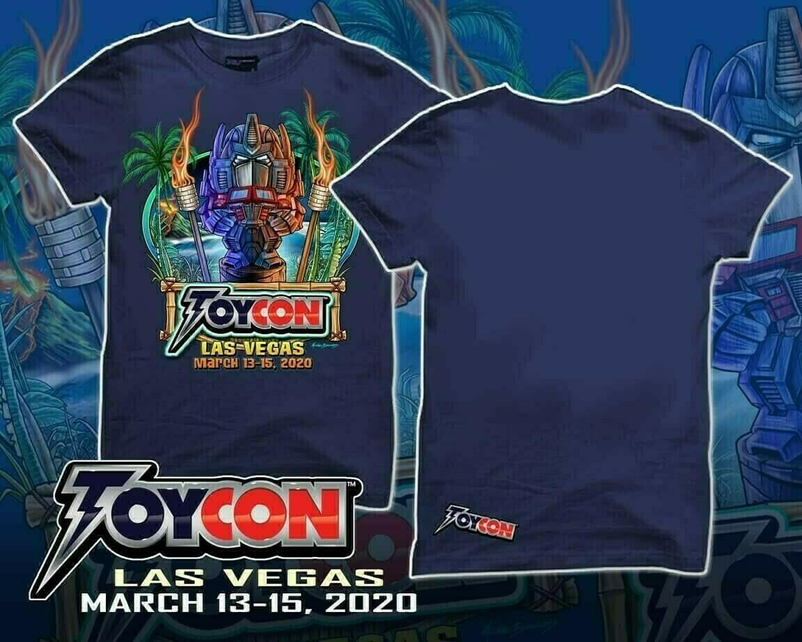 ToyCon Tiki Transformer Shirt Size XLarge