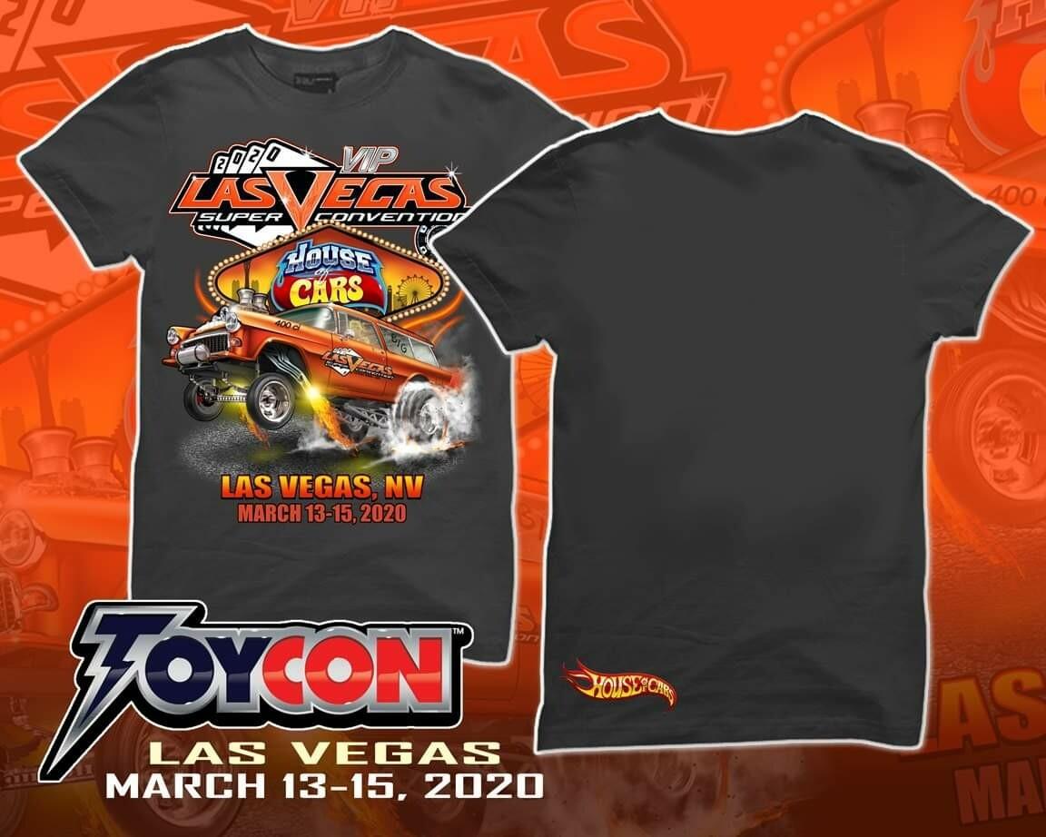 Diecast Super Convention Box Shirt Size XL