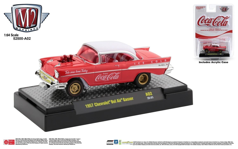 "1957 Chevrolet Bel Air ""GASSERS"" Coke M2"