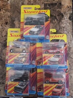 2020 Matchbox Superfast Sealed Case with Skyline