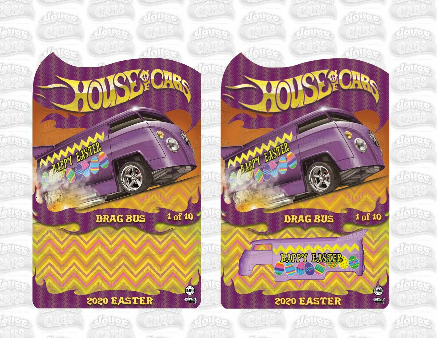 2020 April Easter Series VW Drag Bus 1 of 10 Produced