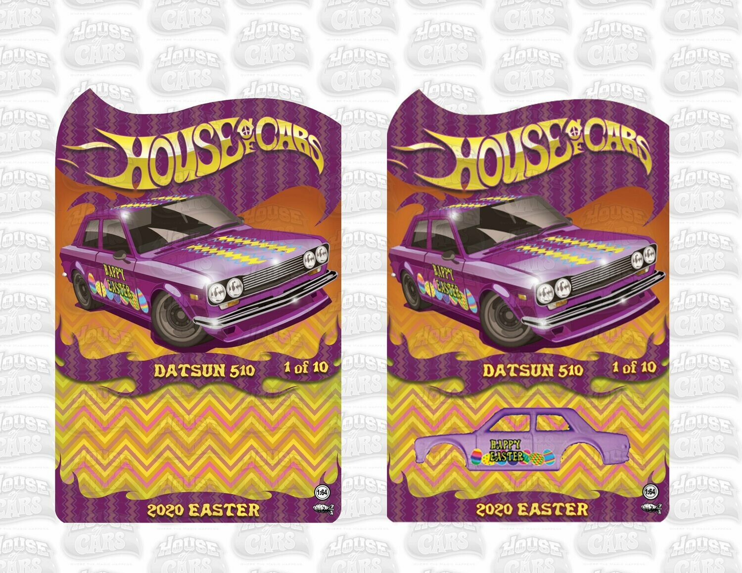 2020 April Easter Series Datsun 510 1 of 10 Produced