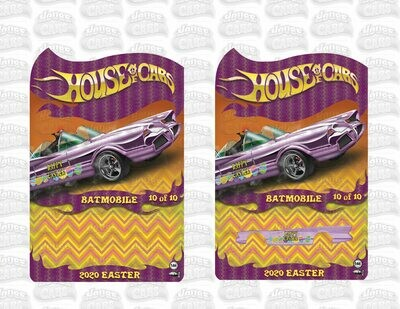 2020 April Easter Series '66 Batmobile 1 of 10 Produced