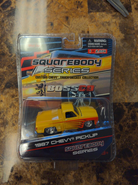 Maisto- Squarebody Series 1987 Chevy Pickup (yellow)