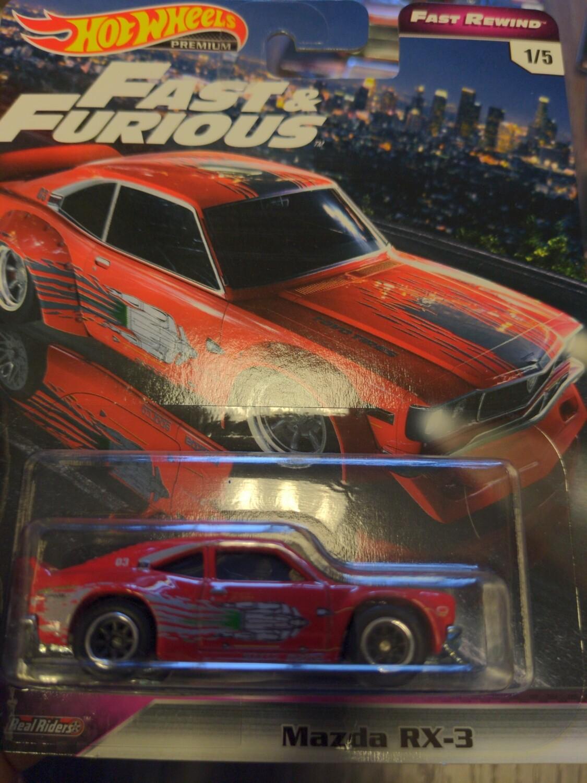 Hot Wheels - Fast & Furious - Mazda RX-3