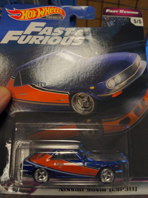 Hot Wheels - Fast & Furious - Nissan Silvia (CSP311)