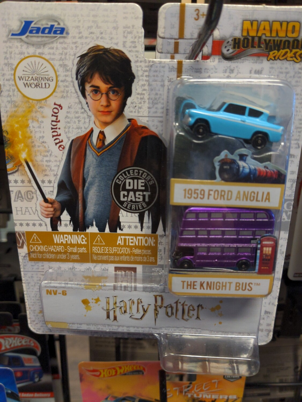 Jada - Nano Hollywood Rides - Harry Potter - 1959 Ford Anglia / The Knight Bus
