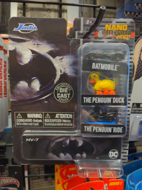 Jada - Nano Hollywood Rides - Batman - Batmobile / The Penguin Duck / The Penguin Ride