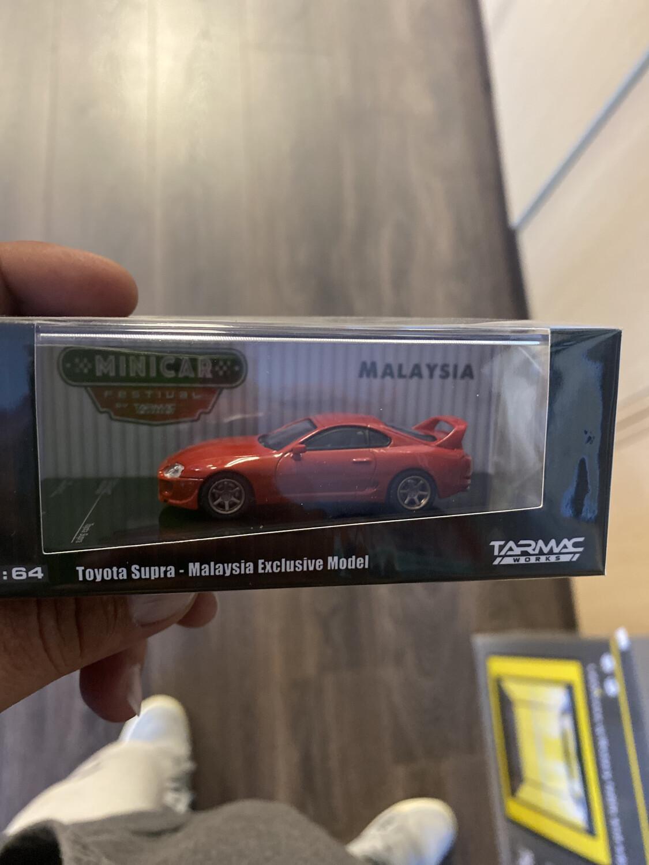 Tarmac Works-Toyota Supra Malaysia Exclusive Model